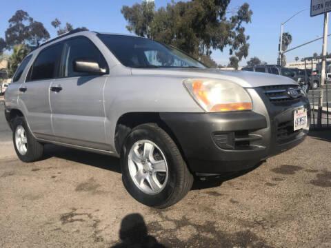 2007 Kia Sportage for sale at Beyer Enterprise in San Ysidro CA