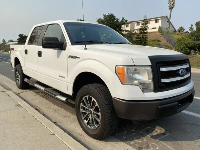 2013 Ford F-150 for sale at Beyer Enterprise in San Ysidro CA