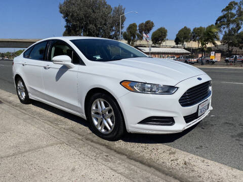 2013 Ford Fusion for sale at Beyer Enterprise in San Ysidro CA