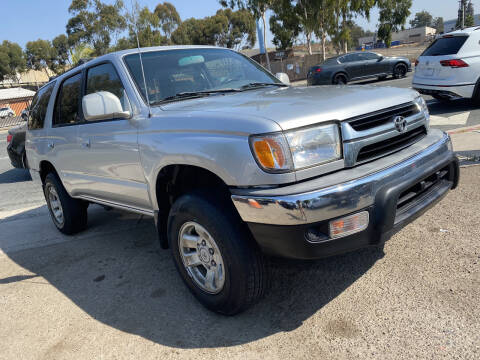 2002 Toyota 4Runner for sale at Beyer Enterprise in San Ysidro CA