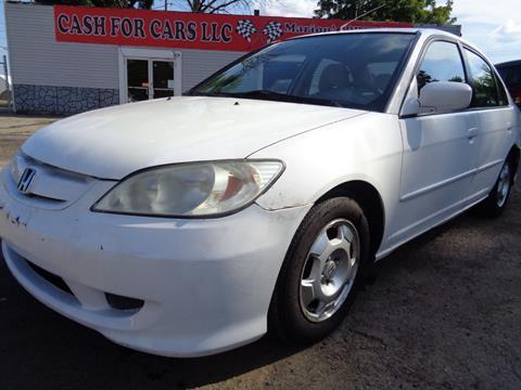 2005 Honda Civic For Sale Carsforsale Com Rh Carsforsale Com 2003 Honda  Civic Hybrid Manual 2005 Honda Civic Hybrid Parts