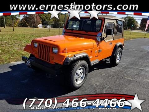 1995 Jeep Wrangler for sale in Loganville, GA