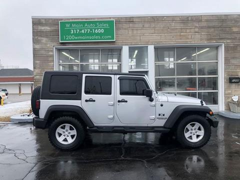2008 Jeep Wrangler Unlimited for sale in Greenfield, IN