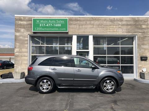 2008 Acura MDX for sale in Greenfield, IN