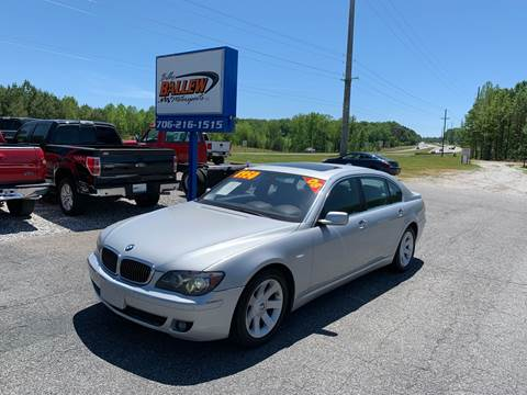 2008 BMW 7 Series for sale in Dawsonville, GA