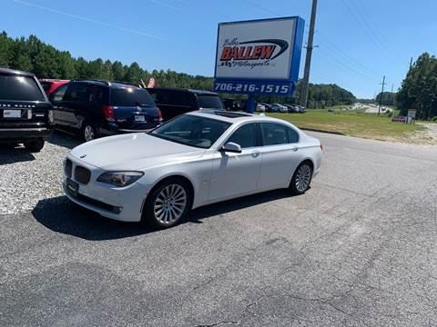 2012 BMW 7 Series for sale in Dawsonville, GA