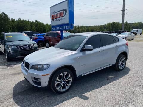 2013 BMW X6 for sale at Billy Ballew Motorsports in Dawsonville GA