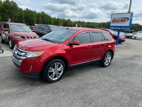 2012 Ford Edge for sale at Billy Ballew Motorsports in Dawsonville GA