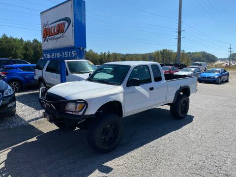 2004 Toyota Tacoma for sale at Billy Ballew Motorsports in Dawsonville GA