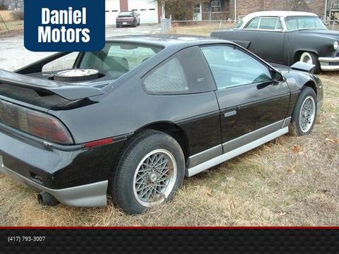 1987 Pontiac Fiero for sale in Carthage, MO