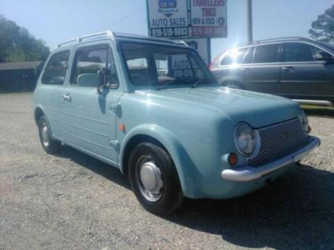 1990 Nissan Pao for sale at LA 12 Motors in Durham NC