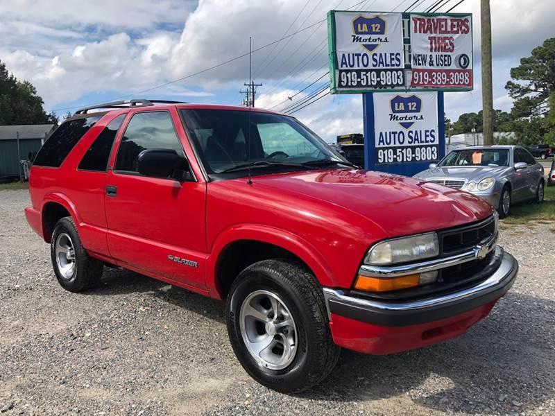 2000 Chevrolet Blazer for sale at LA 12 Motors in Durham NC