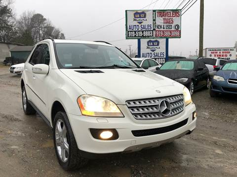 2008 Mercedes-Benz M-Class for sale at LA 12 Motors in Durham NC