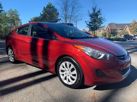 2013 Hyundai Elantra for sale at LA 12 Motors in Durham NC
