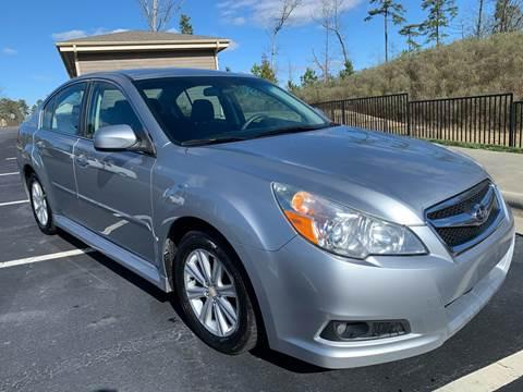 2012 Subaru Legacy for sale at LA 12 Motors in Durham NC