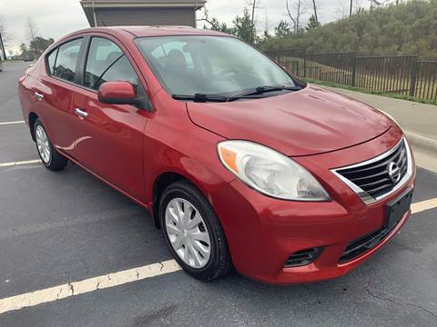 2013 Nissan Versa for sale at LA 12 Motors in Durham NC