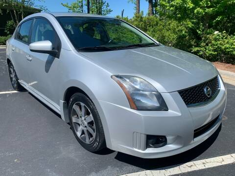 2012 Nissan Sentra for sale at LA 12 Motors in Durham NC