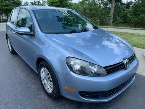 2010 Volkswagen Golf for sale at LA 12 Motors in Durham NC
