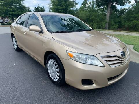 2010 Toyota Camry for sale at LA 12 Motors in Durham NC
