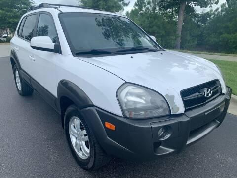 2007 Hyundai Tucson for sale at LA 12 Motors in Durham NC