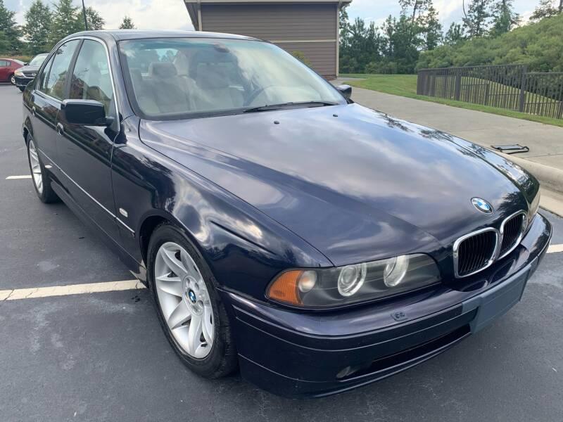 2003 BMW 5 Series for sale at LA 12 Motors in Durham NC