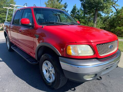 2002 Ford F-150 for sale at LA 12 Motors in Durham NC