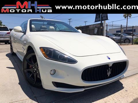 2012 Maserati GranTurismo for sale in Van Nuys, CA