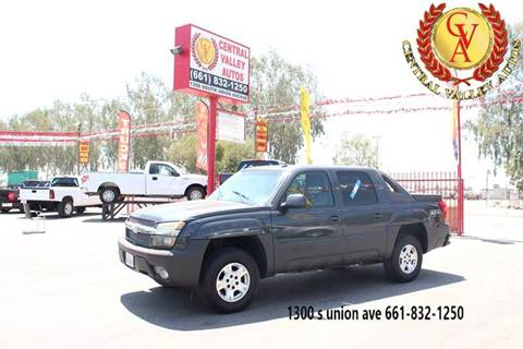 2003 Chevrolet Avalanche For Sale In Bakersfield Ca