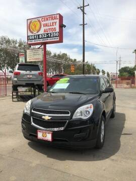 2015 Chevrolet Equinox LS for sale at Central Valley Autos in Bakersfield CA
