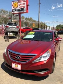 2014 Hyundai Sonata GLS for sale at Central Valley Autos in Bakersfield CA