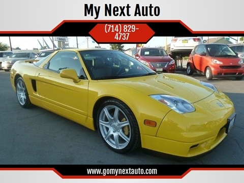 Used Acura NSX For Sale Carsforsalecom - 2000 acura nsx for sale