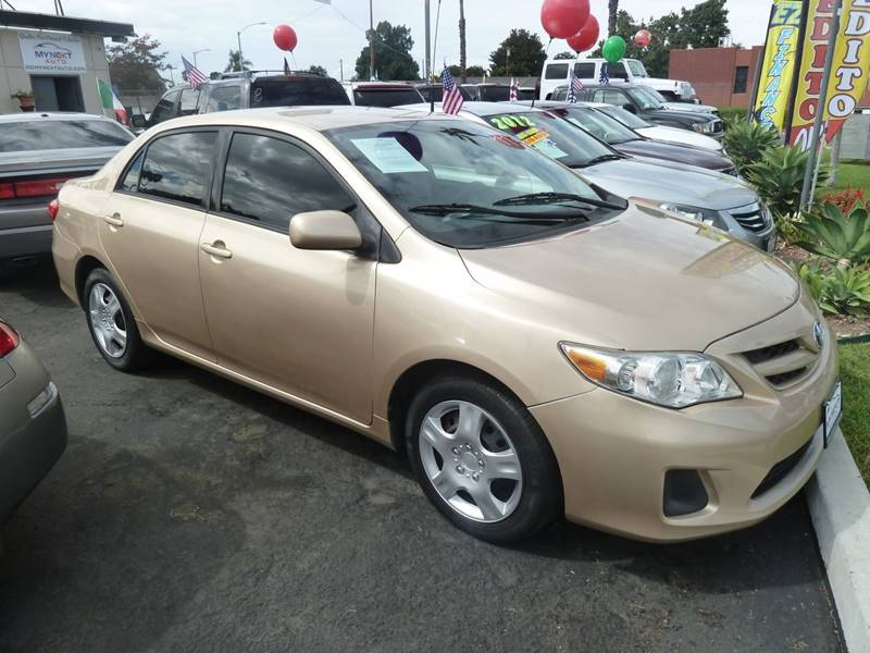 2012 Toyota Corolla For Sale At My Next Auto In Anaheim CA