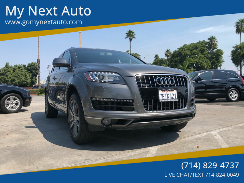 2014 Audi Q7 for sale at My Next Auto in Anaheim CA