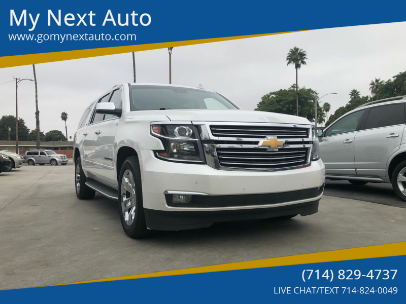 2016 Chevrolet Suburban for sale at My Next Auto in Anaheim CA