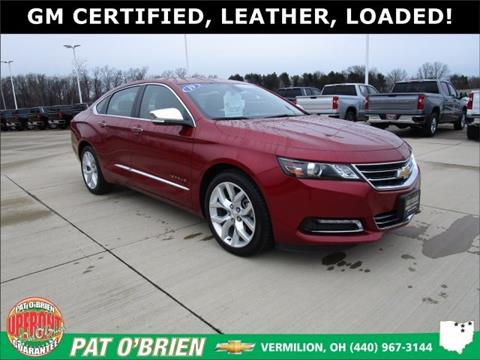 2019 Chevrolet Impala for sale in Vermilion, OH