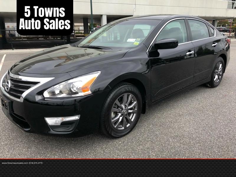 2015 Nissan Altima 2 5 S In Hewlett Ny Five Towns Auto Center Inc