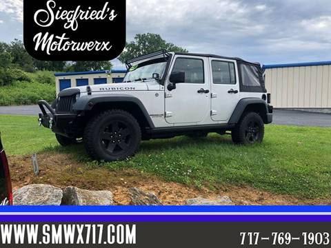 2008 Jeep Wrangler Unlimited for sale in Lebanon, PA