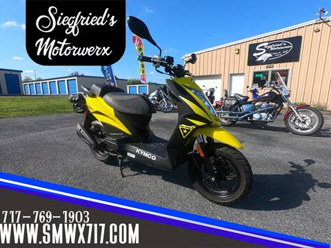 2018 Kymco Super 8 150x for sale in Lebanon, PA