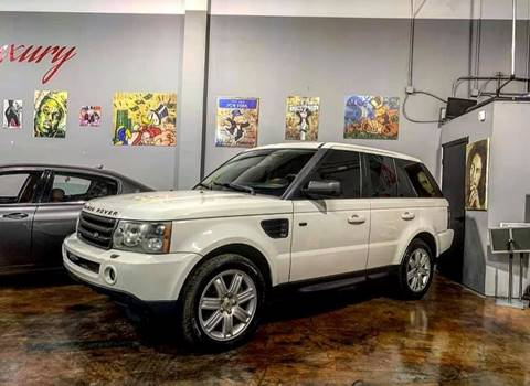 2008 Land Rover Range Rover Sport for sale at FALCON AUTO BROKERS LLC in Orlando FL