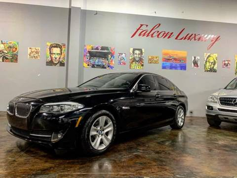 2011 BMW 5 Series for sale at FALCON AUTO BROKERS LLC in Orlando FL