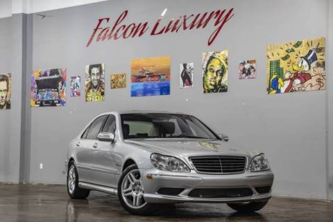 2003 Mercedes-Benz S-Class for sale at FALCON AUTO BROKERS LLC in Orlando FL