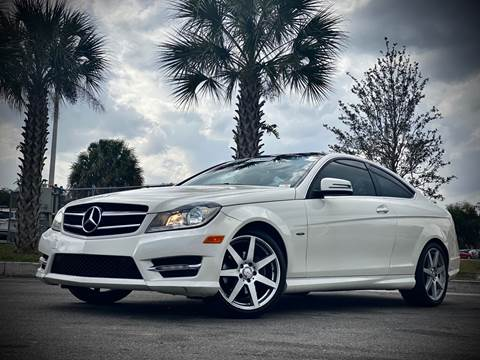 2012 Mercedes-Benz C-Class for sale at FALCON AUTO BROKERS LLC in Orlando FL