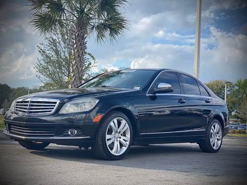 2009 Mercedes-Benz C-Class for sale at FALCON AUTO BROKERS LLC in Orlando FL