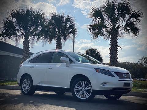 2011 Lexus RX 450h for sale at FALCON AUTO BROKERS LLC in Orlando FL