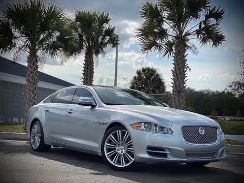 2011 Jaguar XJL for sale at FALCON AUTO BROKERS LLC in Orlando FL