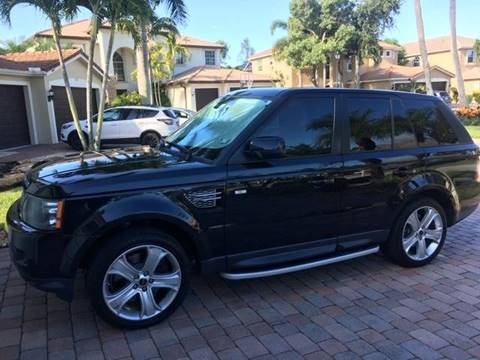2012 Land Rover Range Rover Sport for sale at FALCON AUTO BROKERS LLC in Orlando FL