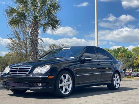 2007 Mercedes-Benz C-Class for sale at FALCON AUTO BROKERS LLC in Orlando FL
