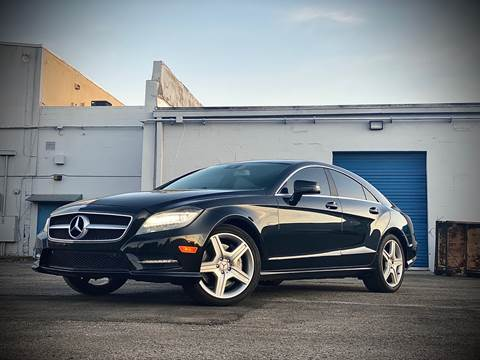 2012 Mercedes-Benz CLS for sale at FALCON AUTO BROKERS LLC in Orlando FL