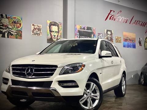 2012 Mercedes-Benz M-Class for sale at FALCON AUTO BROKERS LLC in Orlando FL