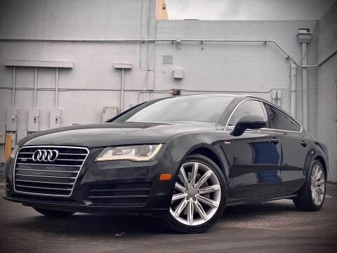 2012 Audi A7 for sale at FALCON AUTO BROKERS LLC in Orlando FL